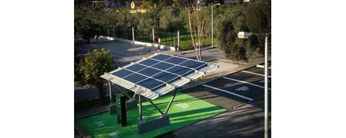 Ηλιακός σταθμός φόρτισης ηλεκτροκίνητων οχημάτων στο νησί της Τήλου