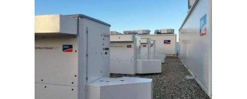 Το μεγαλύτερο σύστημα αποθήκευσης ενέργειας της Ευρώπης στο Pelham