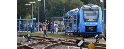 Το πρώτο τρένο υδρογόνου στον κόσμο ταξιδεύει στη Γερμανία