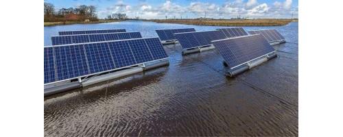 Ολλανδία: Πλωτή μονάδα παραγωγής ηλιακής ενέργειας 2.500 τετραγωνικών χιλιομέτρων