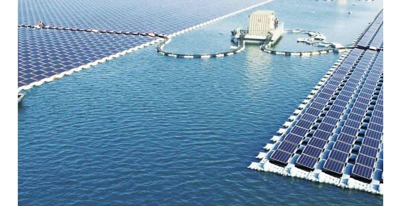 Τεράστιο πλωτό ηλιακό πάρκο πάνω από εγκαταλελειμμένο ανθρακωρυχείο