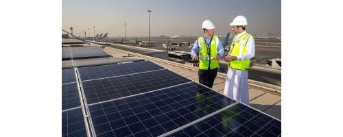 15.000 ηλιακά πάνελ στο αεροδρόμιο του Ντουμπάι