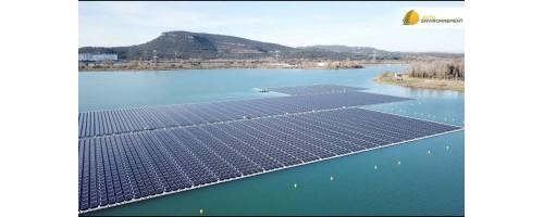 Γαλλία: Εγκαινιάστηκε το μεγαλύτερο πλωτό φωτοβολταϊκό της Ευρώπης