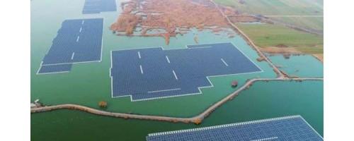 Κίνα: Η μεγαλύτερη πλωτή ηλιακή μονάδα παραγωγής ενέργειας