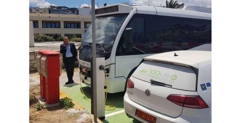Το πρώτο ηλεκτροκίνητο λεωφορείο της Ελλάδας στο Ρέθυμνο