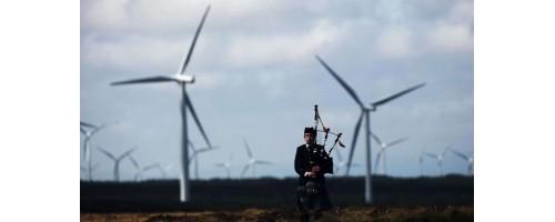 Νέο ρεκόρ παραγωγής για τα αιολικά της Σκωτίας το α' εξάμηνο του έτους στις 9.8 εκατ. MWh