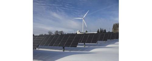 Παραγωγή ανανεώσιμης ενέργειας από χιόνι