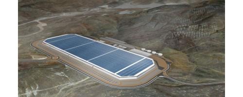 Το Tesla Gigafactory θα παράγει από ΑΠΕ την ενέργεια που καταναλώνει [drone vid]