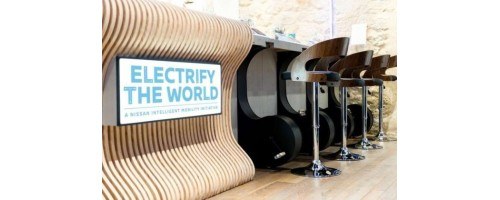 Electric Café: Η πληρωμη του καφε γινεται με την παραγωγη ενεργειας