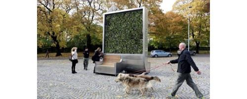 Τείχος από πράσινο καθαρίζει τον αέρα όσο κι ένα δάσος