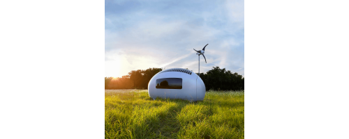 Ecocapsule: Ένα κινητό αυτοσυντηρούμενο μικροσκοπικό σπίτι!