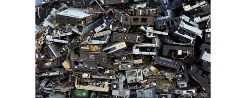 Τα παγκόσμια ηλεκτρονικά απόβλητα το 2016 ζύγιζαν όσο 4.500... πύργοι του Άιφελ!