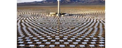 Ηλιοθερμική μονάδα στη Νεβάδα παράγει ηλιακή ενέργεια το βράδυ