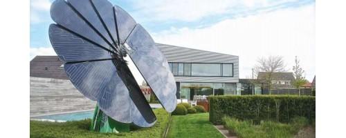 """Έξυπνο plug-n-play """"ηλιοτρόπιο"""" υπόσχεται κάλυψη των οικιακών αναγκών σε ηλεκτρική ενέργεια"""