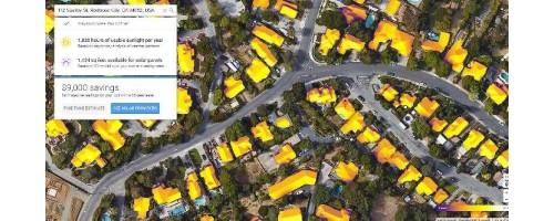 Φωτοβολταϊκά: το Google Project Sunroof επεκτείνεται σε 43 εκατ. στέγες