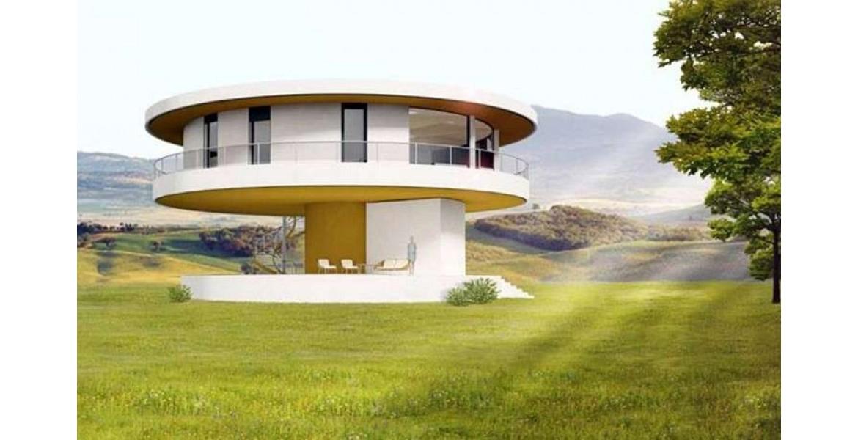 Το καινοτόμο «πράσινο» σπίτι που περιστρέφεται ακολουθώντας τον ήλιο