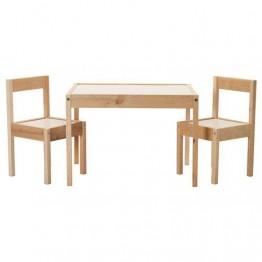 LATT Παιδικό τραπέζι με 2 καρέκλες