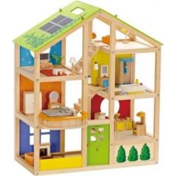 Hape Happy Family Ξύλινο Σπίτι