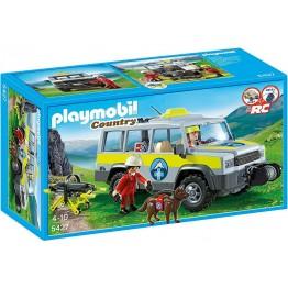 Playmobil Ομάδα Διάσωσης με Όχημα 4x4