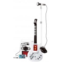 AO QI TOYS Κιθάρα με μικρόφωνο και μίκτης με ασύρματη infrared επικοινωνία
