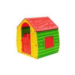 STARPLAY Σπιτάκι κήπου Magical House Κίτρινο-Πράσινο