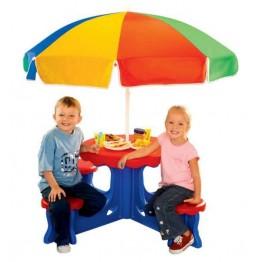 Τραπεζάκι πικ-νικ με ομπρέλα Le Cafe Set Παιδική Χαρά Grow 'n Up