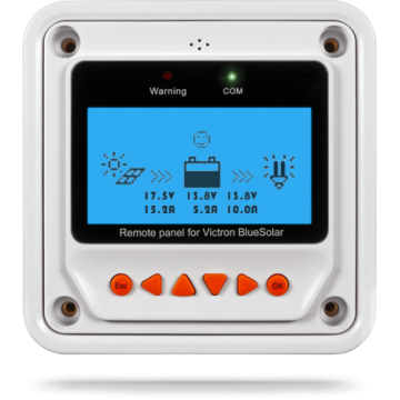 VIC BlueSolar Pro Remote Panel