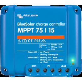 VIC Blue Solar MPPT 75/15 (12/24V-15A)