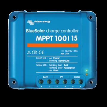 VIC Blue Solar MPPT 100/15 (12/24V-15A)